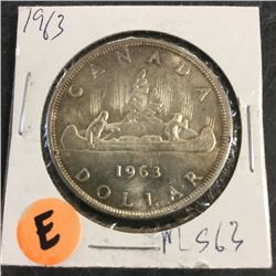 LOT253E: Canada Silver Dollar (CHOICE of 10)