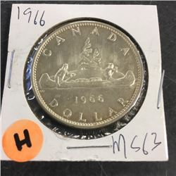 LOT253H: Canada Silver Dollar (CHOICE of 10)