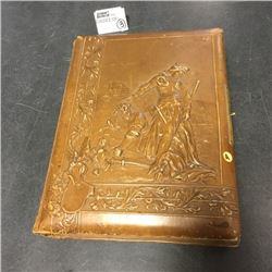 LOT256A: Antique Photo Albums (CHOICE of 3)