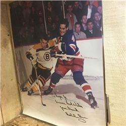 """LOT304: Autographed Poster """"Bobby Orr"""""""
