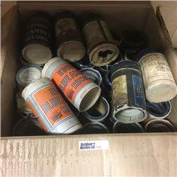 LOT310: Box Lot: Cylinder Records