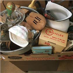 LOT347: Box Lot: Vintage Variety