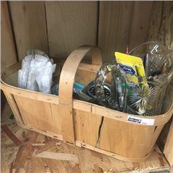 LOT354: Fruit Basket with Desk Accessories