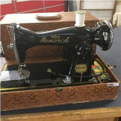LOT399: Monarch Electric Sewing Machine