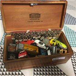 LOT437: Small Box of Toy Cars