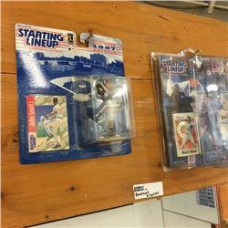 LOT490: Starting Line-Up Baseball Figurines (15)