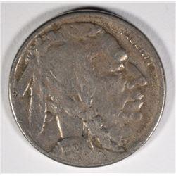 1924-S BUFFALO NICKEL, F/VF