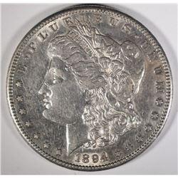 1894-S MORGAN DOLLAR, AU