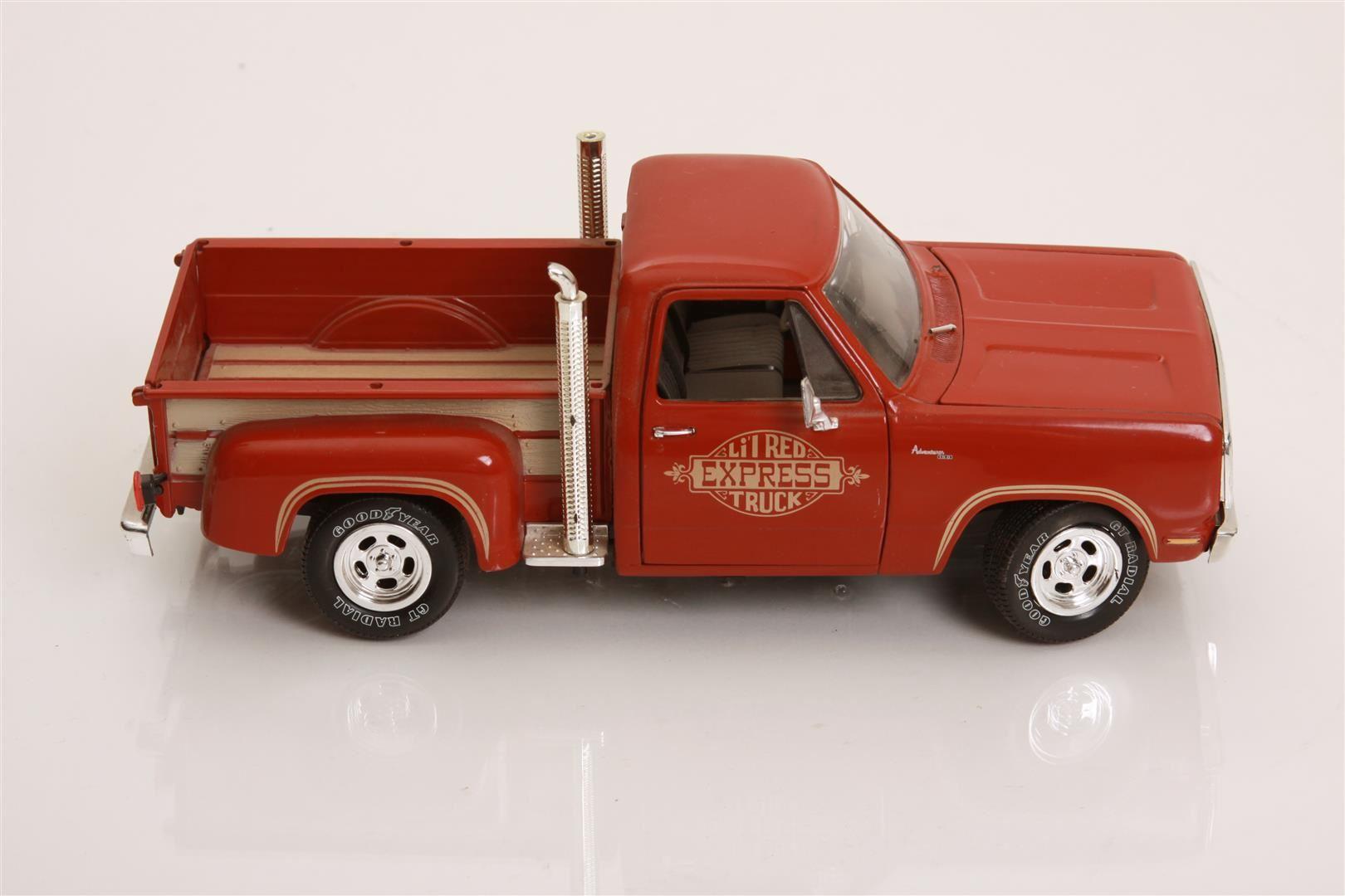 1 18 Scale 1928 Dodge P U Truck Lil Red Express By Ertl