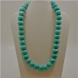 """Howlite Necklace """"17.3X13.5"""" Approx"""