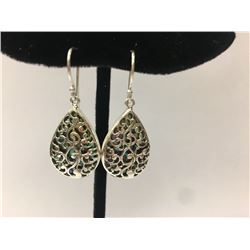 Abalone Sterling Silver Earring