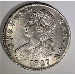1827 BUST HALF CH BU