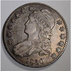 1830 BUST HALF XF/AU