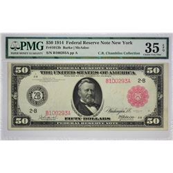Fully Original New York $50 Red Seal