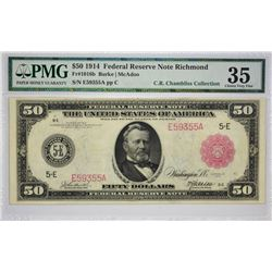 Single Finest PMG Graded Fr. 1016b