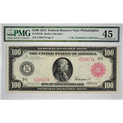 Exceptional Philadelphia $100 Red Seal