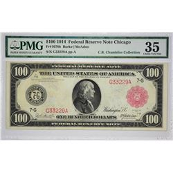 Attractive Chicago $100 Red Seal