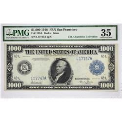 San Francisco $1000 Federal Reserve Note