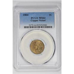 1864 1C Indian Cent. MS 64 PCGS
