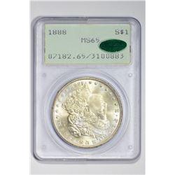 1888 $1. MS 65 PCGS