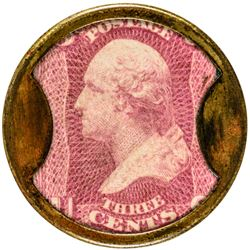 Lord & Taylor. 3 Cents. HB-169, EP-51, S-122. Extremely Fine.
