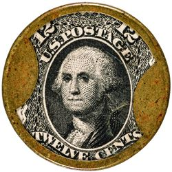 Extremely Rare John Shillito & Company 12 Cents John Shillito & Co. 12 Cents. HB-220, EP-158, S-164.