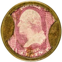 N & G Taylor & Co. 3 Cents. HB-226, EP-57, S-170. Extremely Fine.