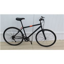 Mongoose Men's 7 Speed Torque Drive System Black Racing Bike