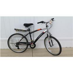 Kent Glendale Comfort Series Men's Black Shimano Gears 7 Speed Bike w/ Carrier