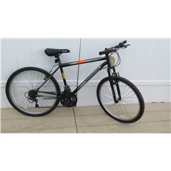 Roadmaster Granite Peak Men's 18 Speed Torque Drive Black Gray Mountain Bike