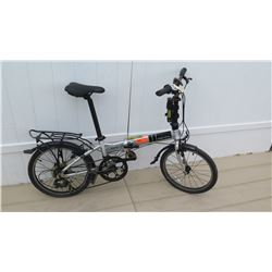 Dahon Men's Mariner Silver Shimano Revo Shift Folding Bike w/ Carrier