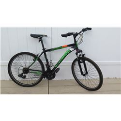 Schwinn Sidewinder 2G Men's Shimano Equipped Black Green Mountain Bike