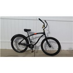 "Shogun Stryker Men's 29"" Black Single Speed Cruiser Bike w/ Coaster Brakes"
