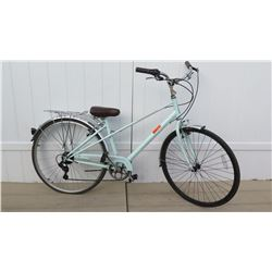 Schwinn Pacific Coast Men's Light Green Touring Bicycle w/ Carrier