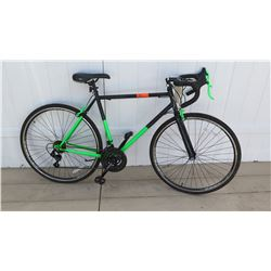 Kent 700C Series Radius Men's Neon Green & Black  RoadTech Road Bike