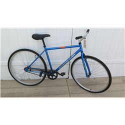 Kent 700 High Roller Men's Single Speed Blue Track Bike w/ Coaster Brakes