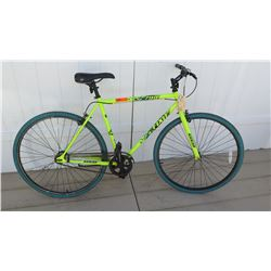 Kent 700C Series Fixie Men's Neon Green Single Speed Road Bike