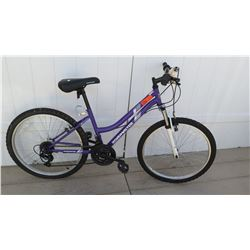 "Roadmaster 24"" Granite Peak Women's Blue Ground Assault 18 Speed Road Bike"