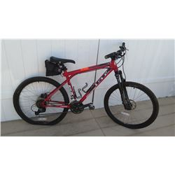 GT Riser 60 Avalance Men's All Terrain Aluminum Suntour XCR Red Mountain Bike