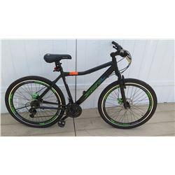 Genesis RCT 27 Men's Boy's Hardtail Black Green Aluminum Mountain Bike