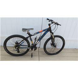 Trek 3700 Three Series Men's Black Blue 18 Speed Mountain Bike