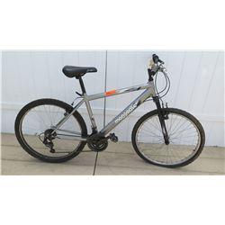 Mongoose Spire Men's 18 Speed Silver Element Men's Mountain Bike