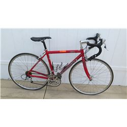 Cannondale R500 Slice Echelon Men's CAD2 Aluminum Red Racing Road Bike