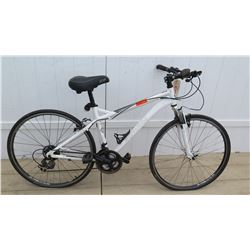 Schwinn Network 2.0 Men's White 7 Speed Shimano Equipped Hybrid City Bike