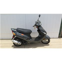 2012 Pronto Apex Motorsports Taizhou Zhongneng Motorcycle Black Moped 359 Miles