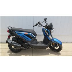 2015 Zummer 50CC TaoTao Group Black Blue Moped 3614 Miles - Steering Locked