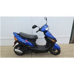 Metro Black Blue Moped Jiangsu Baodiao Locomotive Co. 1771 Miles