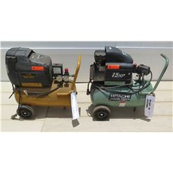 Tools - Hitachi Koki EC 10SC and Stanley Bostitch CWC156 1.5 HP Air Compressors