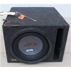 "Car Audio - Alpine Type R10 Speaker in XScorpion 12"" Box"