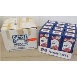 Bicyle Brand Playing Cards - 12 Boxes (each box has 12 decks)